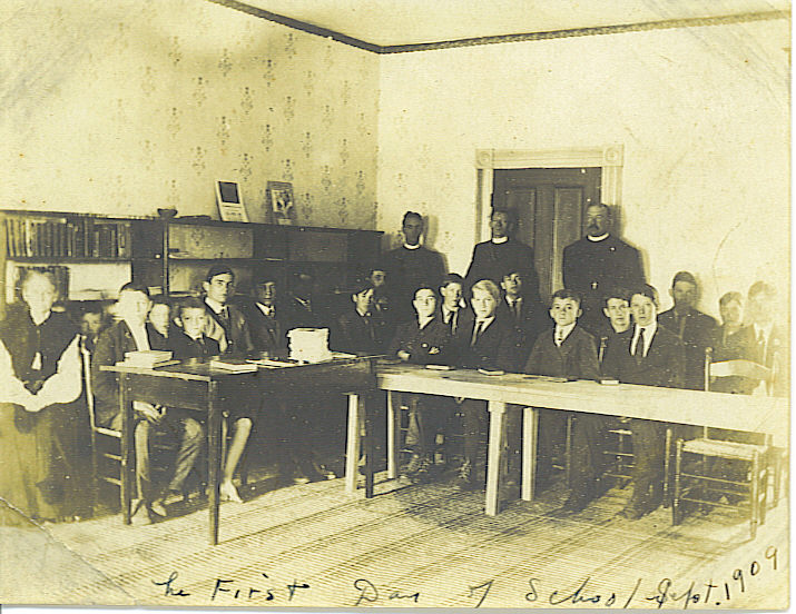 1909 First Day at Patterson