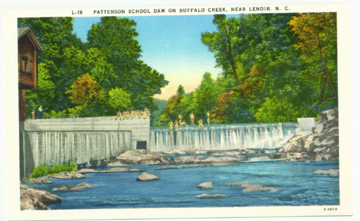 Buffalo Cove Dam