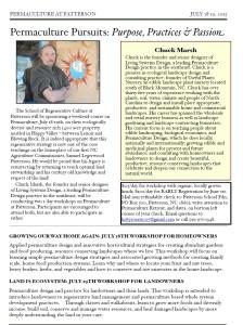 Chuck Marsh Brochure